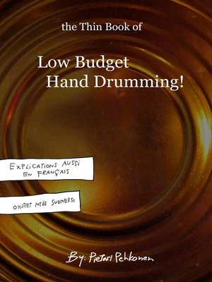 cover image of The Thin Book of Low Budget Hand Drumming!