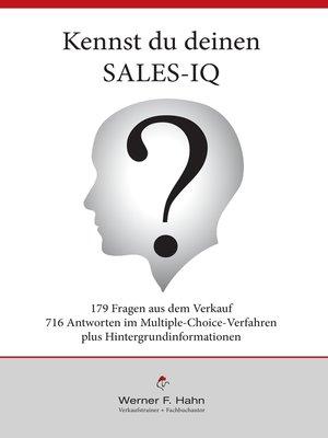cover image of Kennst du deinen Sales-IQ?