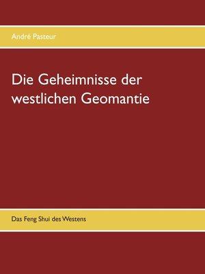 cover image of Die Geheimnisse der westlichen Geomantie
