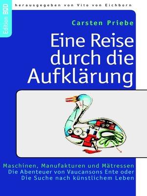 cover image of Eine Reise durch die Aufklärung