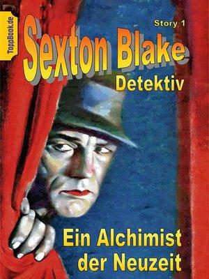 cover image of Ein Alchimist der Neuzeit
