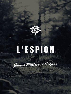 cover image of L'Espion
