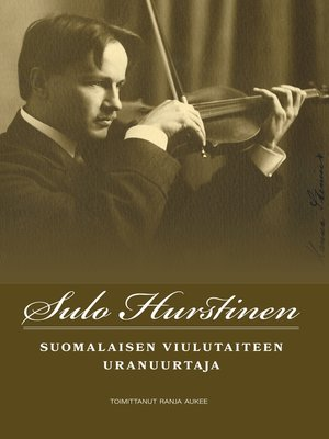 cover image of Sulo Hurstinen
