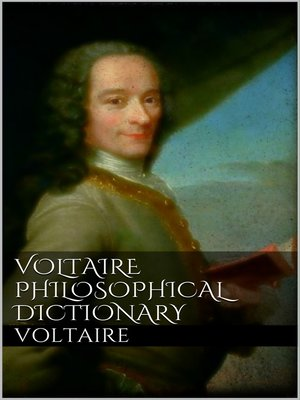 cover image of Voltaire's Philosophical Dictionary