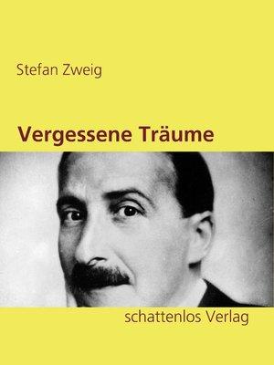 cover image of Vergessene Träume