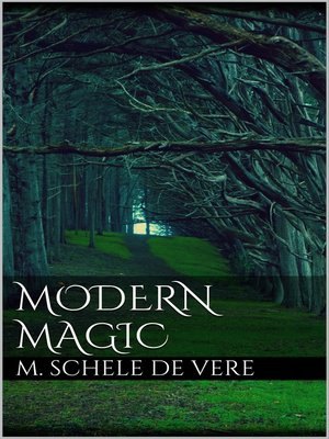 cover image of Modern Magic