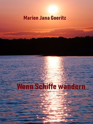 cover image of Wenn Schiffe wandern