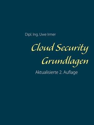 cover image of Cloud Security Grundlagen