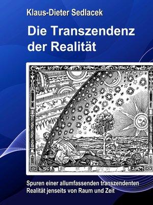 cover image of Die Transzendenz der Realität