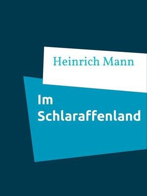 cover image of Im Schlaraffenland