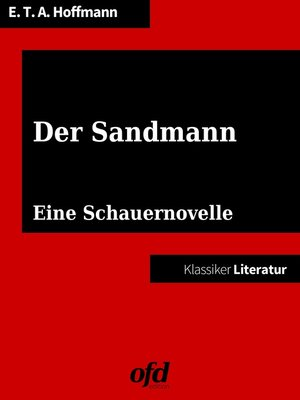 cover image of Der Sandmann
