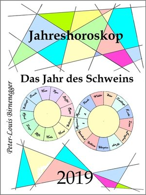 cover image of Jahreshoroskop 2019