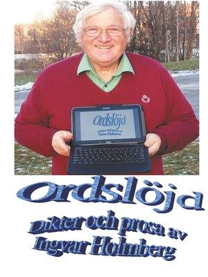 cover image of Ordslöjd
