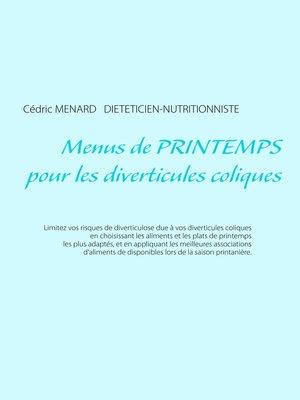 cover image of Menus de printemps pour les diverticules coliques
