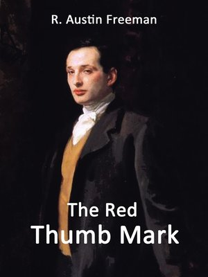 cover image of The Red Thumb Mark