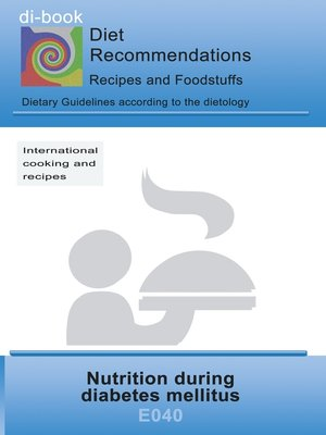 cover image of Nutrition during diabetes mellitus