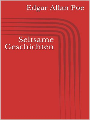 cover image of Seltsame Geschichten