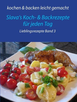 cover image of kochen & backen leicht gemacht Lieblingsgerichte Band 3
