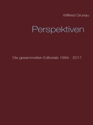cover image of Perspektiven