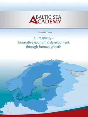 cover image of Humanivity--Innovative economic development  through human growth
