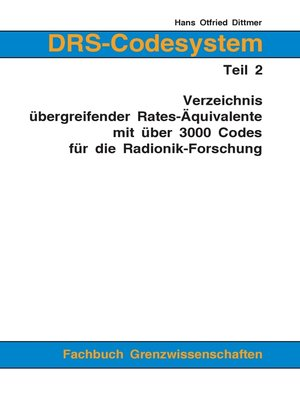 cover image of DRS-Codesystem Teil 2