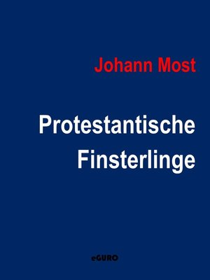 cover image of Protestantische Finsterlinge