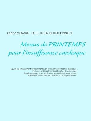 cover image of Menus de printemps pour l'insuffisance cardiaque