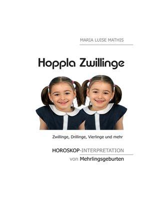 cover image of Hoppla Zwillinge