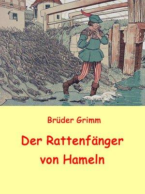 cover image of Der Rattenfänger von Hameln