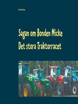 cover image of Det stora Traktorracet