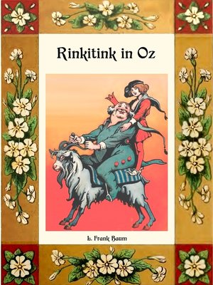 cover image of Rinkitink in Oz--Die Oz-Bücher Band 10