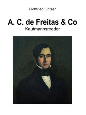 cover image of A. C. de Freitas & Co