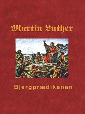 cover image of Bjergprædikenen