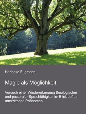 cover image of Magie als Möglichkeit