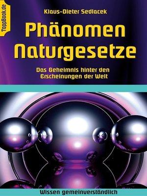 cover image of Phänomen Naturgesetze