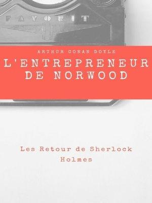 cover image of L'Entrepreneur de Norwood