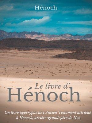 cover image of Le Livre d'Hénoch