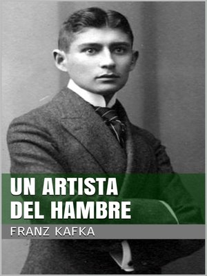 cover image of Un artista del hambre