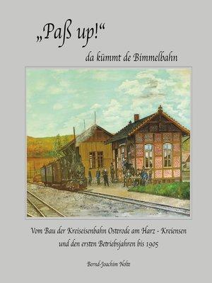 "cover image of ""Paß up!"" da kümmt de Bimmelbahn"