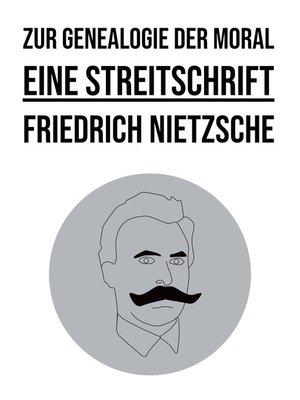 cover image of Zur Genealogie der Moral