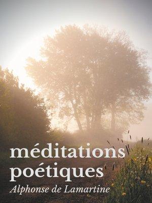 cover image of Méditations poétiques