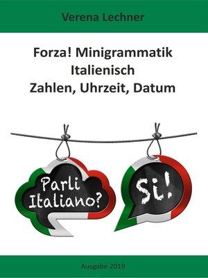 cover image of Forza! Minigrammatik Italienisch