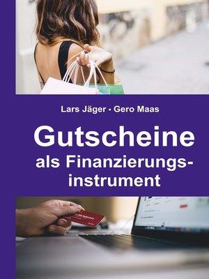 cover image of Gutscheine als Finanzierungsinstrument