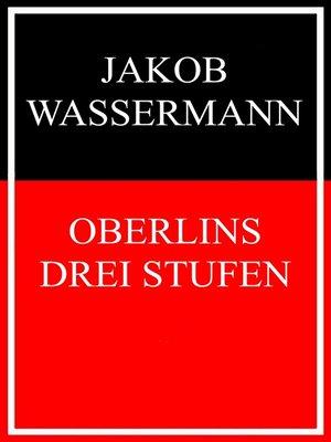 cover image of Oberlins drei Stufen