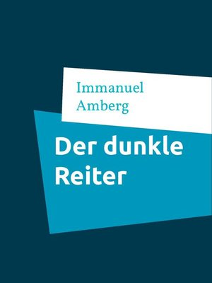 cover image of Der dunkle Reiter