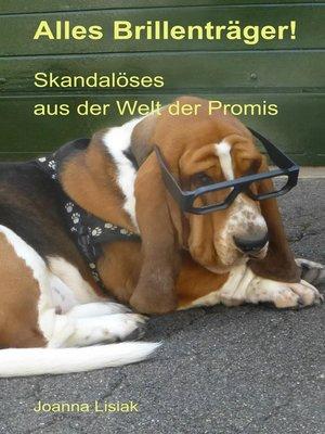 cover image of Alles Brillenträger!