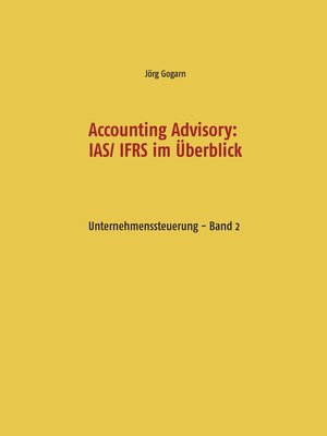 cover image of Accounting Advisory--IAS/ IFRS im Überblick