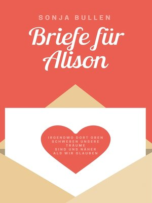 cover image of Briefe für Alison