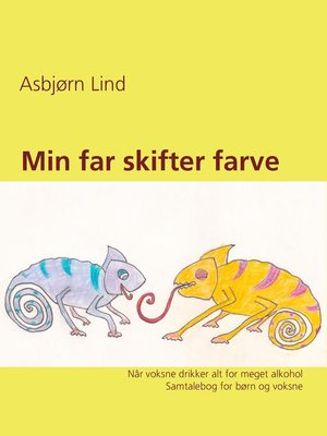 cover image of Min far skifter farve