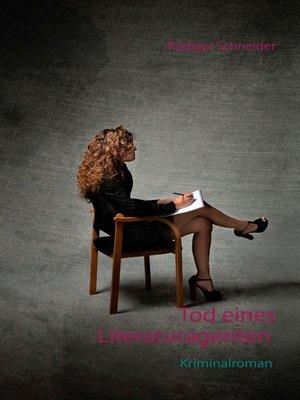 cover image of Tod eines Literaturagenten